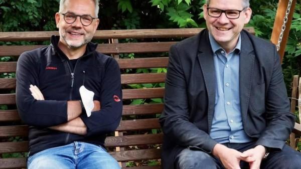 Michael Roth und Friedel Lenze