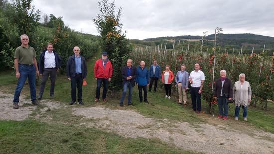 Besuch Obsthof Bausch