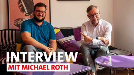 Interview mit Michael Roth